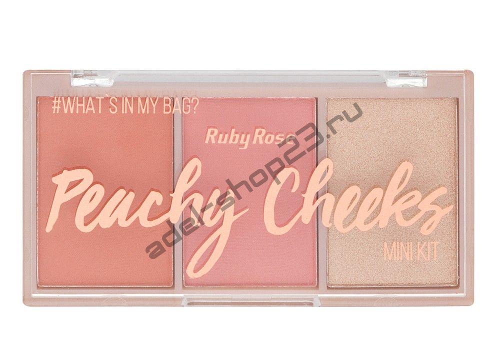 RUBY ROSE - палитра румян Berry Cheeks  НВ-6111