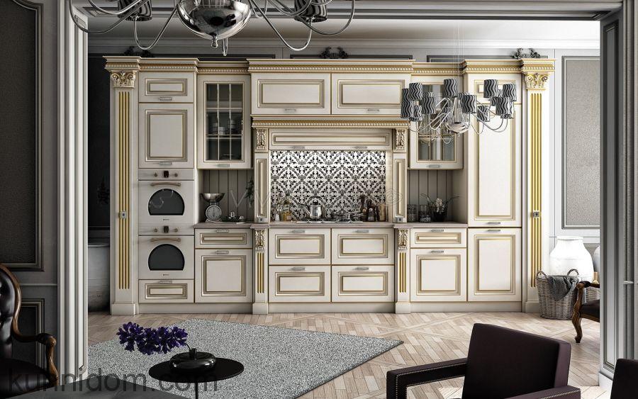Кухня GIOVANNI MARIA Бежевая