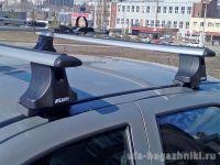 Багажник на крышу Fiat Albea, Атлант, крыловидные дуги