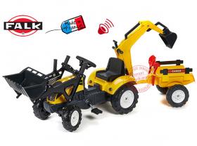 Трактор на педалях falk 2055CN