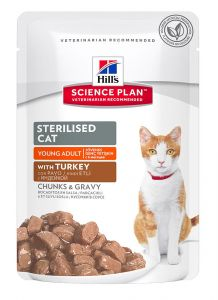 Hill's Science Plan Feline Sterilised with Turkey 85 гр.