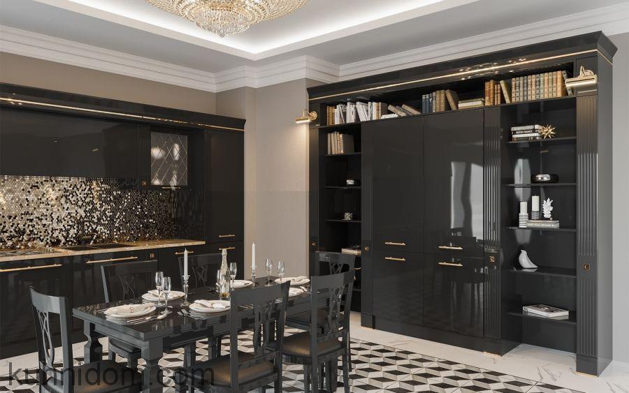 Кухня VIVA PREMIUM с колоннами