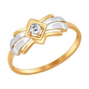 Кольцо SOKOLOV 017250 золото 585