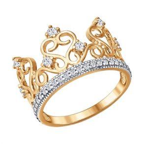 Кольцо SOKOLOV 016629 золото 585