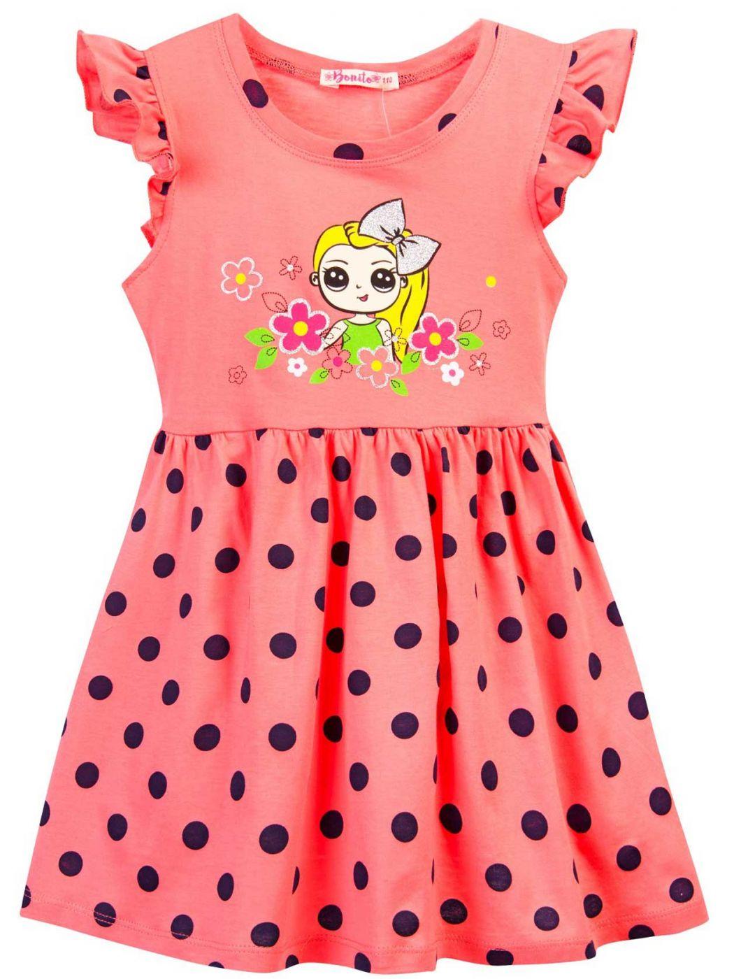 Платье для девочки 3-7 лет Bonito BJ1168P4