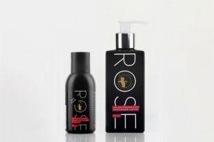Rose гель для очищения кожи увлажняющий с шелком 45 мл