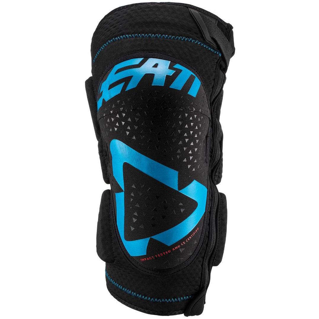 Leatt  3DF 5.0 Zip Knee Guard Fuel/Black защита колен