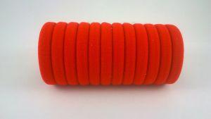 `Резинка для волос бесшовная 3 см, цвет № 01 красный