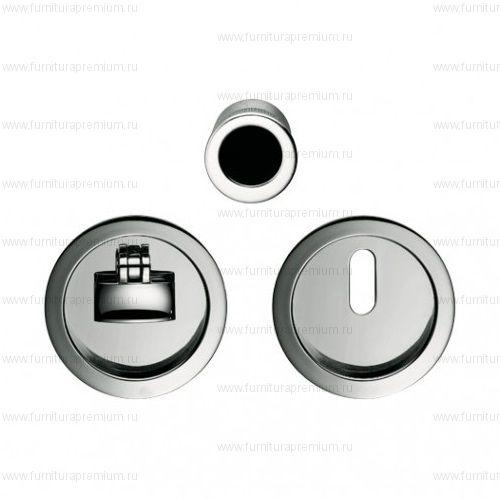 Ручка Colombo OPEN ID211 LK WK для раздвижных дверей с замком под ключ
