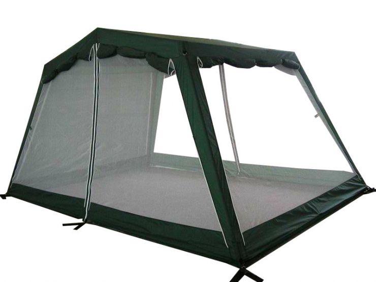 Тент CAMPACK-TENT G-3301W с ветро-влагозащитными полотнами