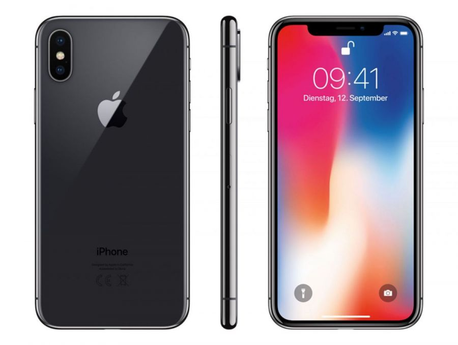 Смартфон Apple iPhone X 64GB Space Gray (без функции Face ID)