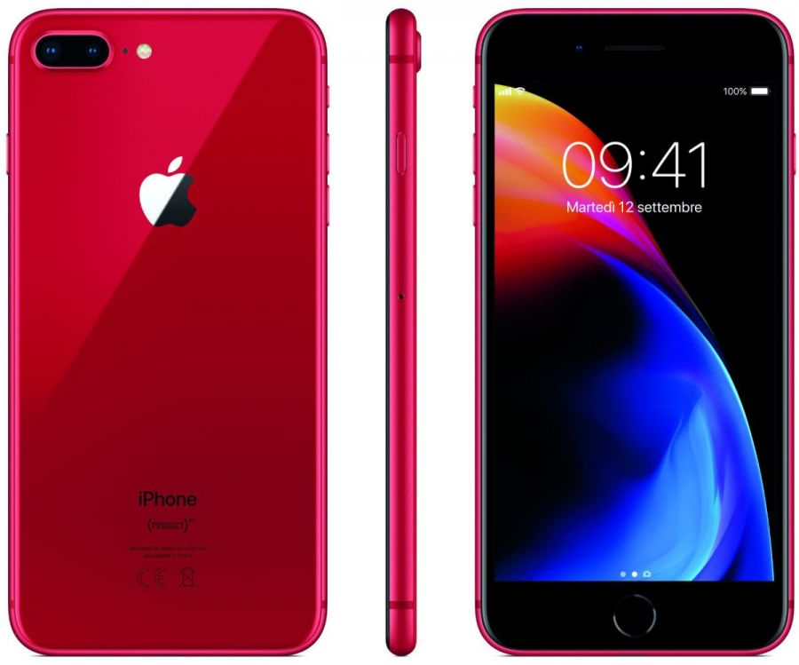 Смартфон Apple iPhone 8 Plus 64GB LTE Red