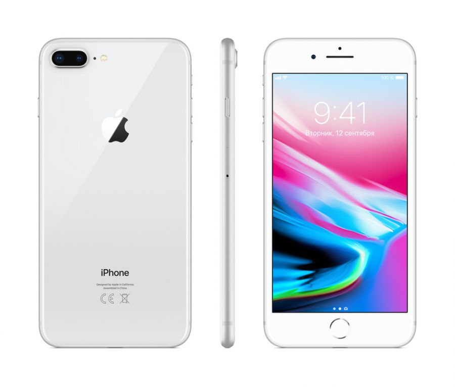 Смартфон Apple iPhone 8 Plus 128GB LTE Silver