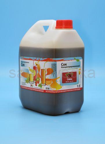 Сок сливовый концентрированный 5 л