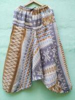 Теплые плотные штаны алладины (афгани) с мотней. Магазин в Москве