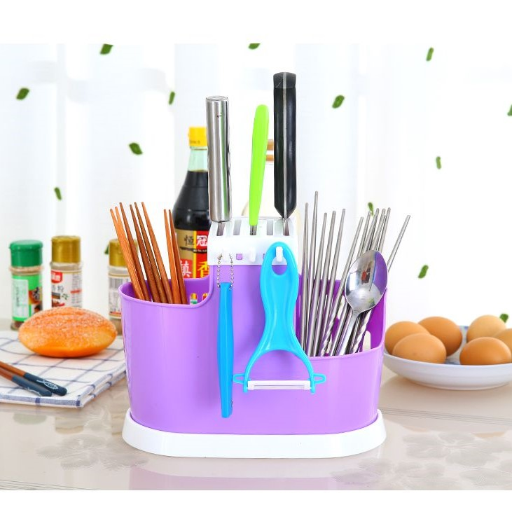 Органайзер Для Хранения Столовых Приборов Chopsticks Cage, Цвет Фиолетовый
