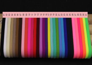 """`Резинка-повязка """"one size"""", диаметр 10,5см, окружность 33см, цвет № 07 темно-коричневый"""