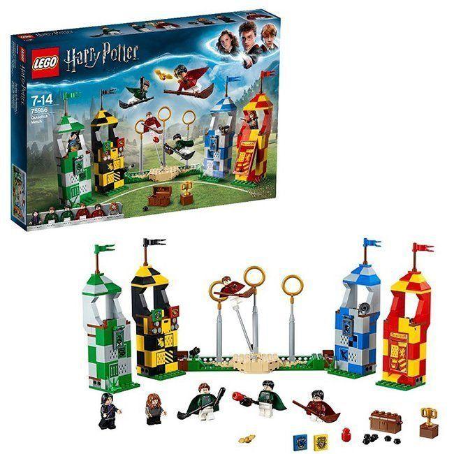 Конструктор Лего 75956 Гарри Поттер Матч по квиддичу