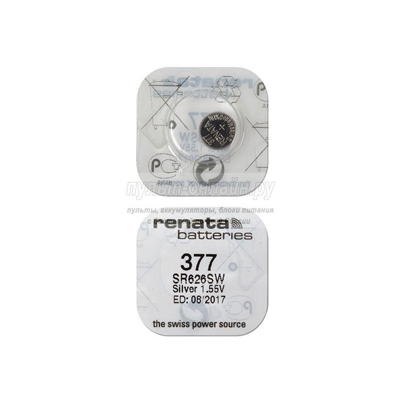 Батарейка Renata SR626SW