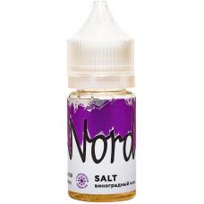 Е-жидкость Nord Salt Виноградный микс, 30 мл.