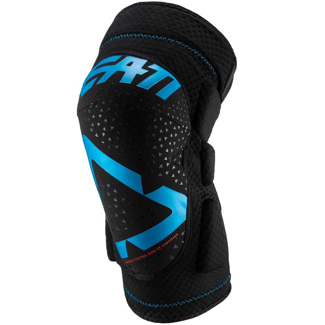 Leatt - 2019 3DF 5.0 Knee Guard Fuel/Black защита колен, синя