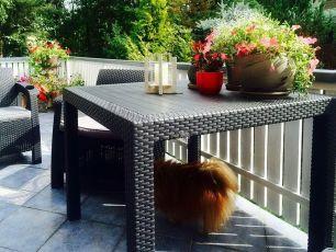 Стол обеденный квадратный Yalta Kvatro Table (Россия)