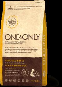O&O  All Breeds Duck&Rice 12 кг  (утка с бурым рисом для собак всех пород)