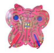 Деревянная игрушка. Лабиринт с шариками БАБОЧКА (арт. ИД-7762)