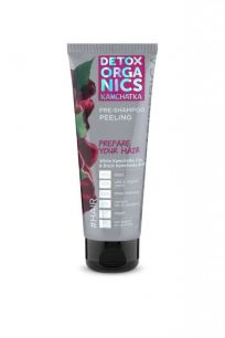 Detox organics Kamchatka Очищающий пилинг для кожи головы, 75 мл