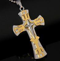 Нательный крест Пси-голд