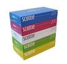 Двухслойные бумажные салфетки Scottie Flowerbox, 200 шт