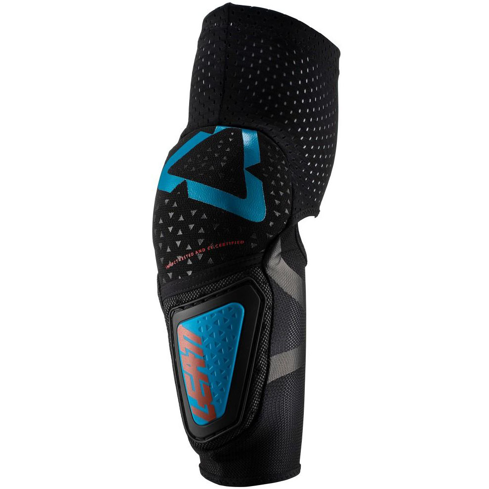 Leatt - 3DF Hybrid Elbow Guard Fuel/Black защита локтей, синяя