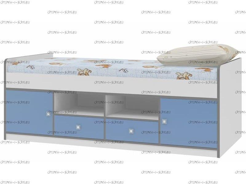 Кровать Дельта-19.1 Сильвер (90Х200)