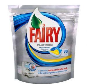 Fairy Platinum Капсулы для посудомоечной машины 36 штук