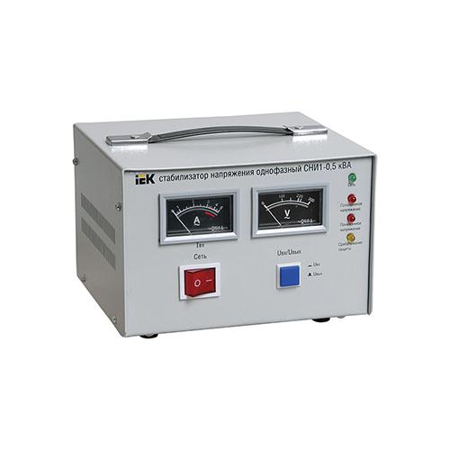 Стабилизатор напряжения СНИ1-0,5 кВА однофазный ИЭК