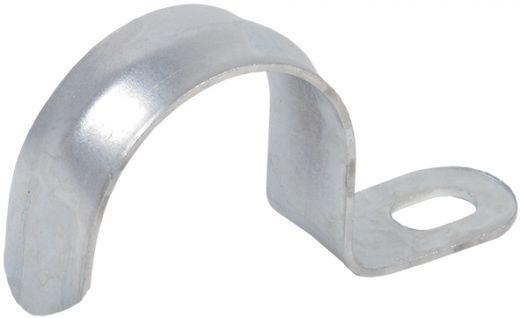Скоба металлическая однолапковая d12-13мм