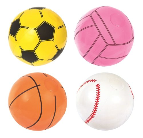 "Мяч ""Спорт"" 41 см в ассортименте (баскетбол, бейсбол, футбол, волейбол)"