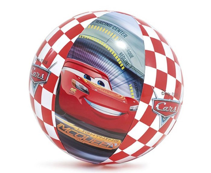 "Мяч ""Тачки"" 61 см"