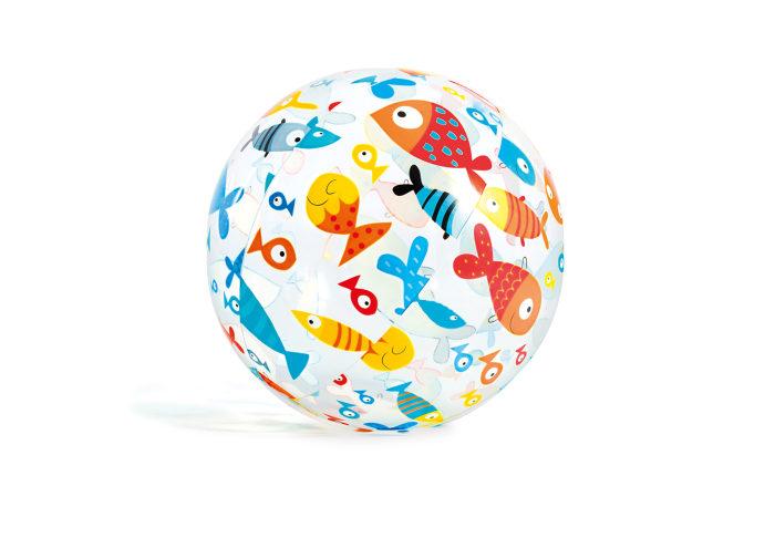 "Мяч ""Лайвли"" 61 см 3 цвета"