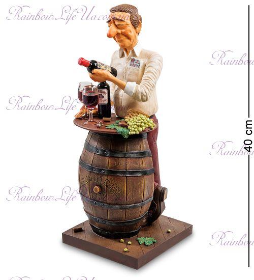 "Статуэтка Коллекционер вина ""The Wine Lover. Forchino"""