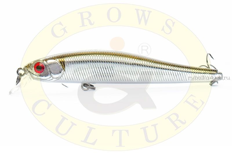 Воблер Grows Culture Rige 90F 90мм/  9,5гр/ цвет:  021R