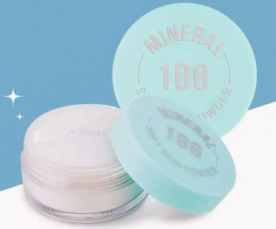 Пудра рассыпчатая минеральная (R)A'PIEU Mineral 100 Soft Skin Powder