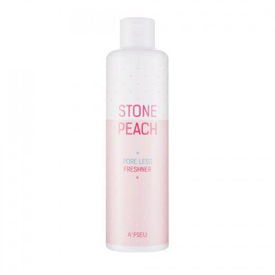 Тонер для сужения пор A'PIEU Stone Peach Pore Less Freshner 250мл