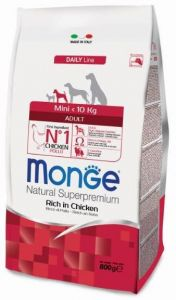 Monge Dog Mini корм для взрослых собак мелких  пород 800г