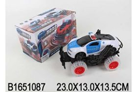 Машина полицейская на батарейках в коробке (арт. JX888-9)