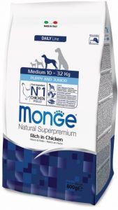 Monge Dog Medium корм для щенков средних  пород 800г
