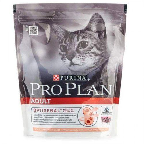 Корм сухой Pro Plan Adult для взрослых кошек с лососем