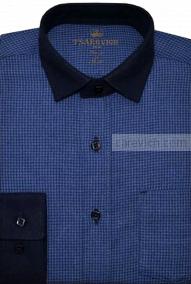 "Рубашки для мальчиков оптом ""Царевич"" (6-14 лет.). 10 шт. Артикул: James 5-37"