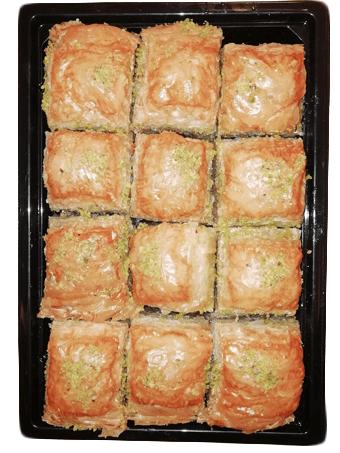 Пахлава с грецким орехом 400г