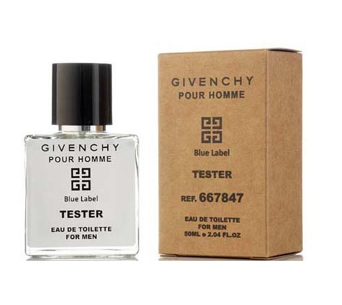 Мини Tester Givenchy Blue Label Homme 50 мл (ОАЭ)